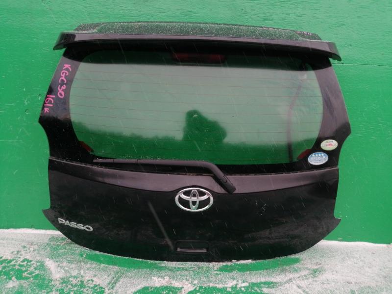Дверь задняя Toyota Passo KGC30 (б/у)