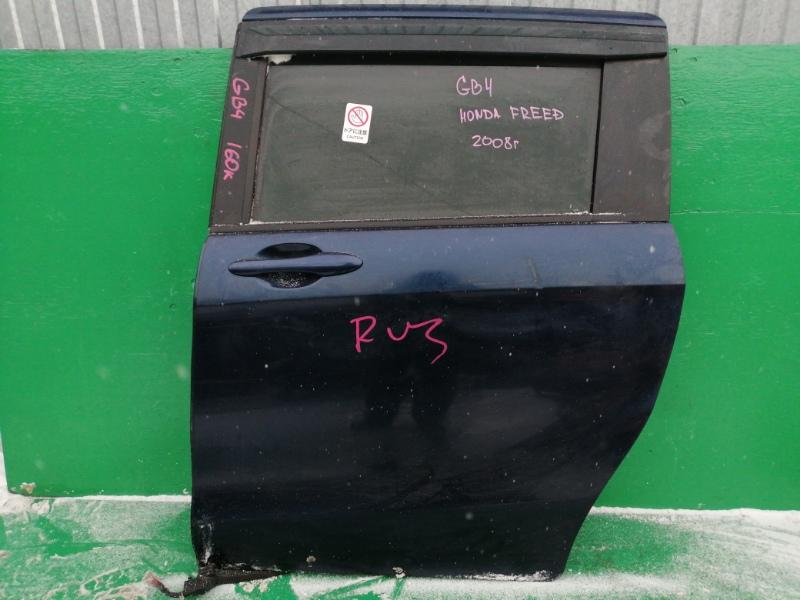 Дверь Honda Freed GB4 2008 задняя левая (б/у)