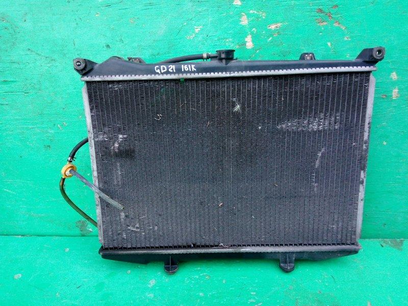 Радиатор основной Nissan Datsun D21 NA16-S (б/у)