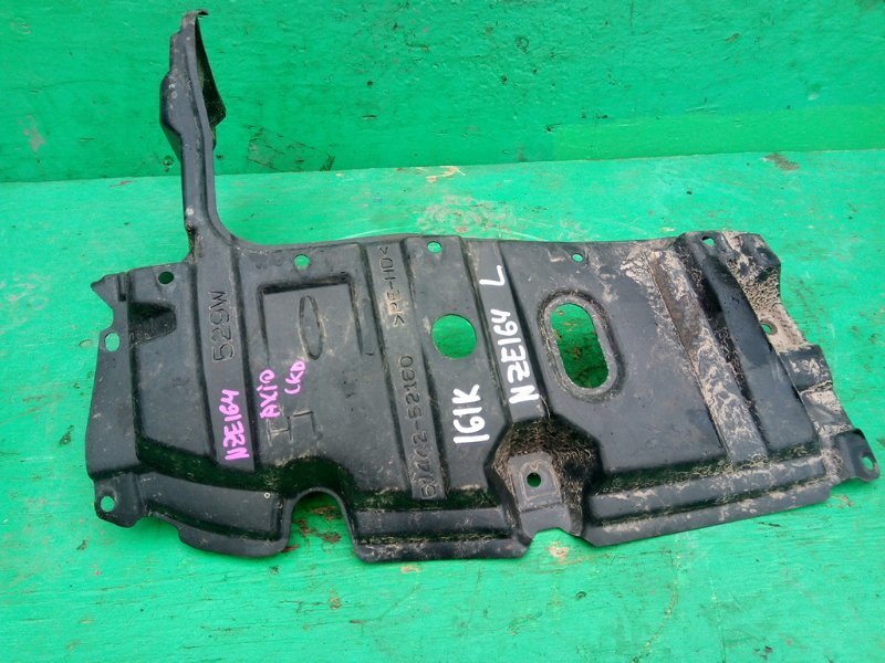 Защита двигателя Toyota Corolla Axio NZE164 левая (б/у)