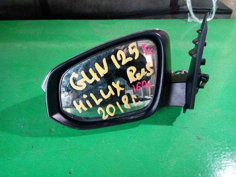Зеркало Toyota Hilux GUN125 2018 левое (б/у)