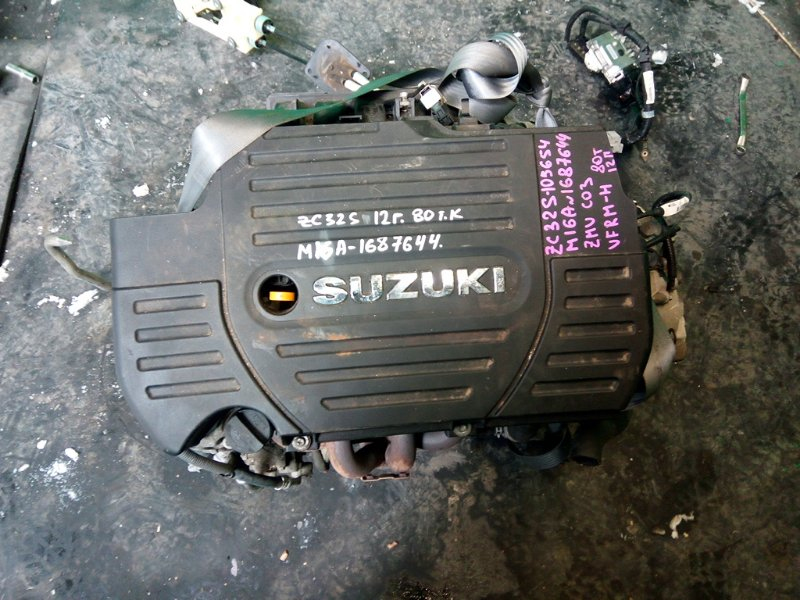 Двигатель Suzuki Swift ZC32S M16A 2012 (б/у)