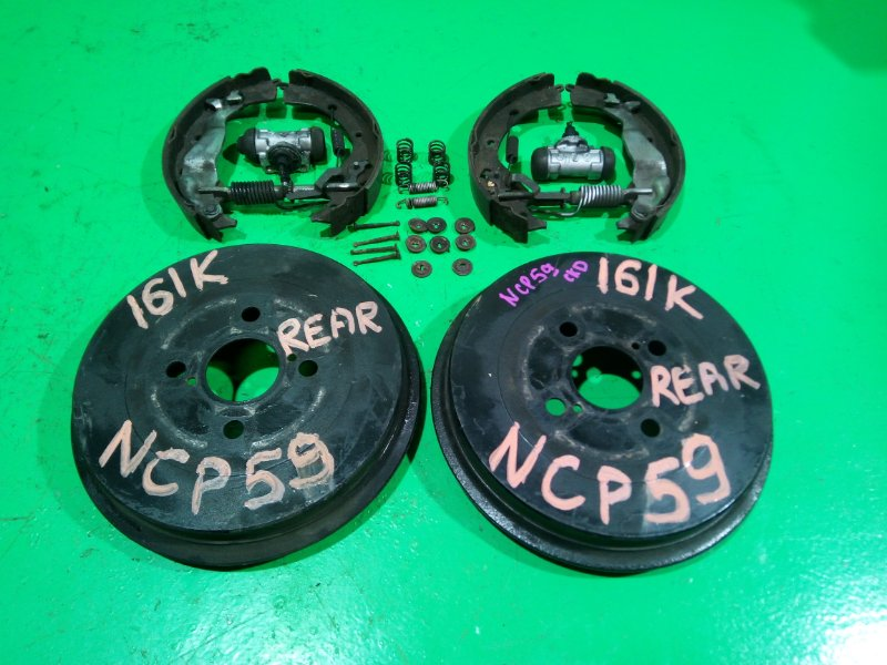 Тормозной барабан Toyota Probox NCP59 задний (б/у)