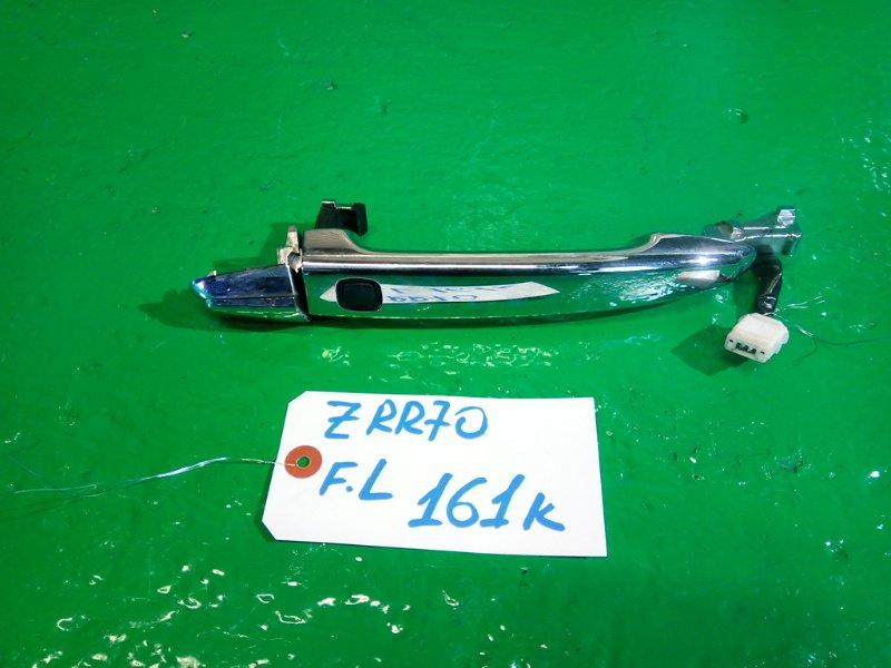 Ручка двери внешняя Toyota Noah ZRR70 передняя левая (б/у)