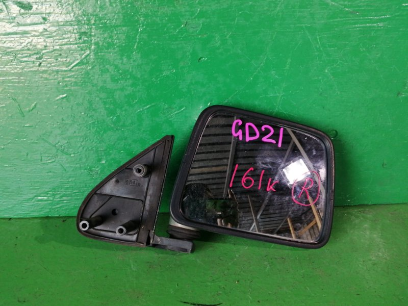 Зеркало Nissan Datsun D21 правое (б/у)