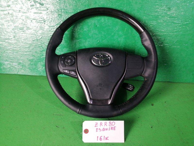 Руль Toyota Esquire ZRR80 (б/у)