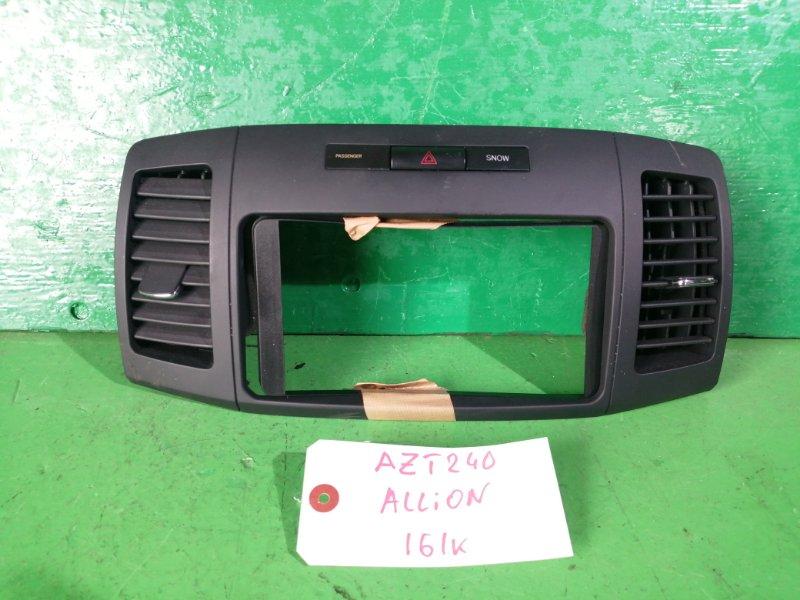 Консоль магнитофона Toyota Allion AZT240 (б/у)