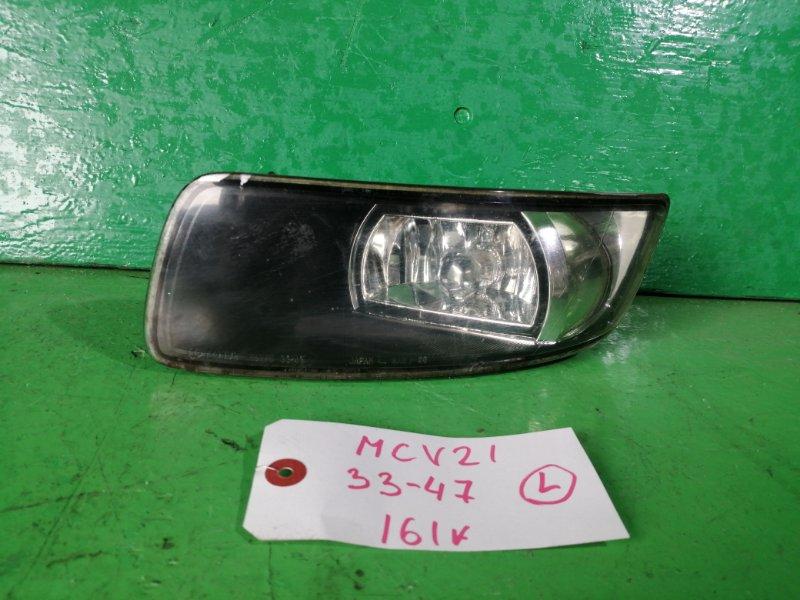Туманка Toyota Windom MCV21 левая (б/у)
