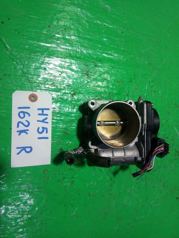 Дроссельная заслонка Nissan Fuga HY51 VQ35 правая (б/у)