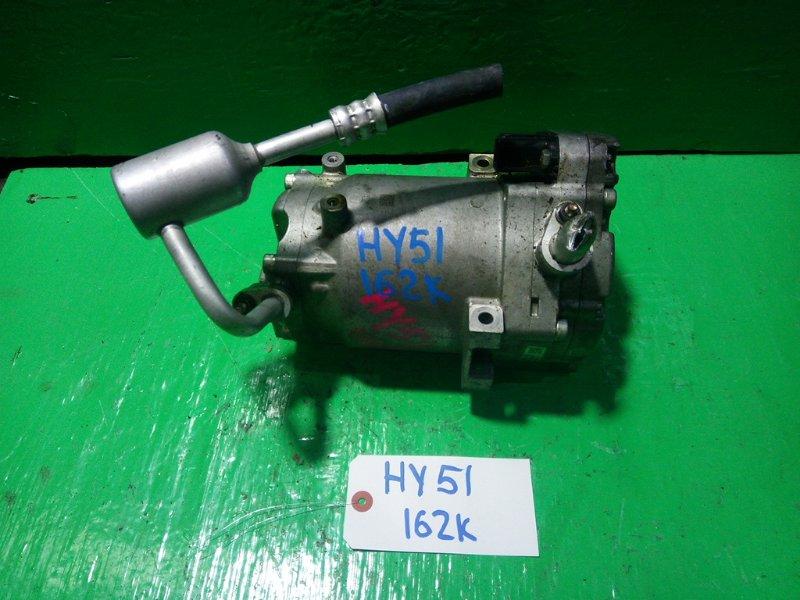 Компрессор кондиционера Nissan Fuga HY51 VQ35 (б/у)