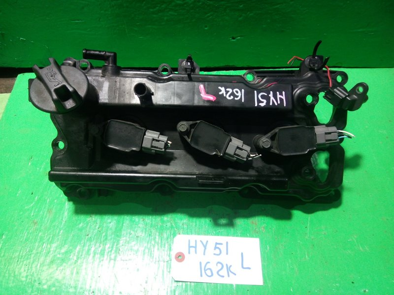 Клапанная крышка Nissan Fuga HY51 VQ35 левая (б/у)