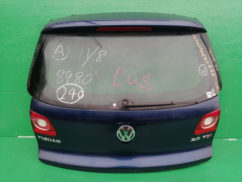 Дверь задняя Volkswagen Tiguan 5N1 2009 (б/у) WVGZZZ5NZ9W091645