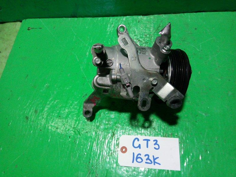 Компрессор кондиционера Subaru Impreza GT3 FB16 (б/у)