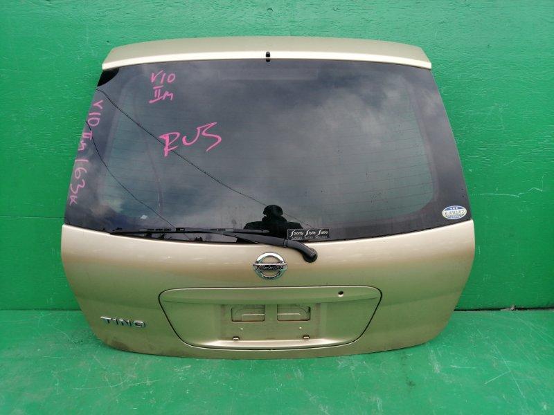 Дверь задняя Nissan Tino V10 (б/у)