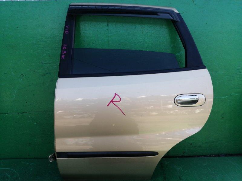 Дверь Nissan Tino V10 задняя левая (б/у)