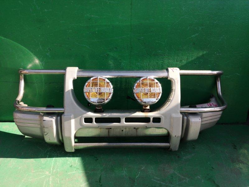 Бампер Mitsubishi Pajero V45W передний (б/у)