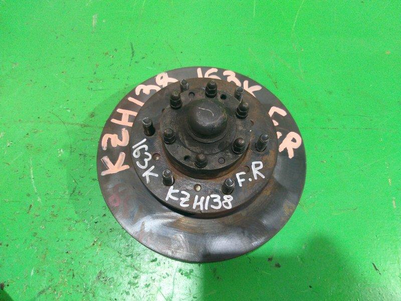 Тормозной диск Toyota Hiace KZH138 передний правый (б/у)