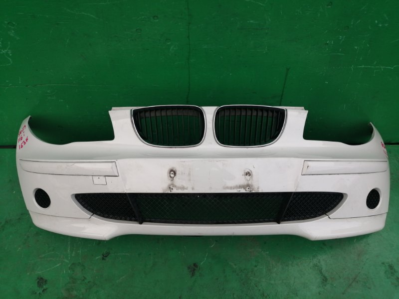 Бампер Bmw 116I E87 2006 передний (б/у)