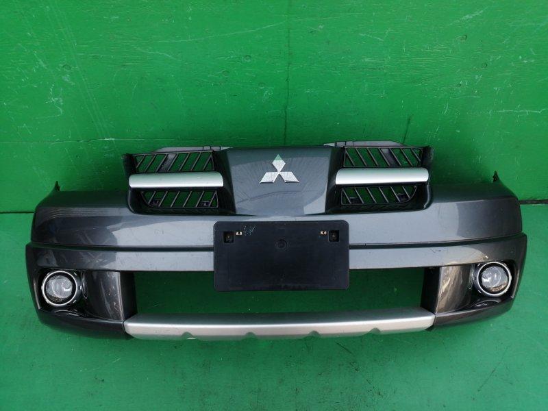 Бампер Mitsubishi Outlander CU5W передний (б/у)