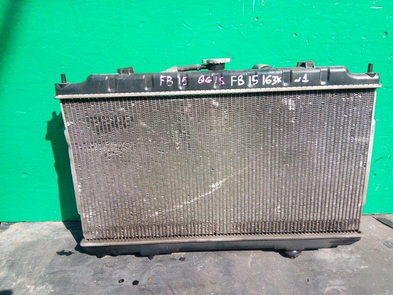 Радиатор основной Nissan Sunny FB15 QG15-DE (б/у) №1