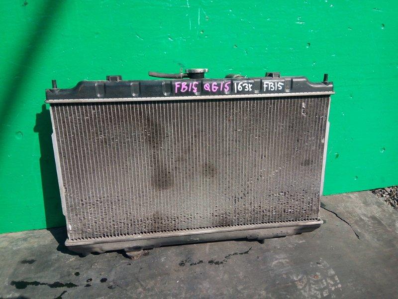 Радиатор основной Nissan Sunny FB15 QG15-DE (б/у)
