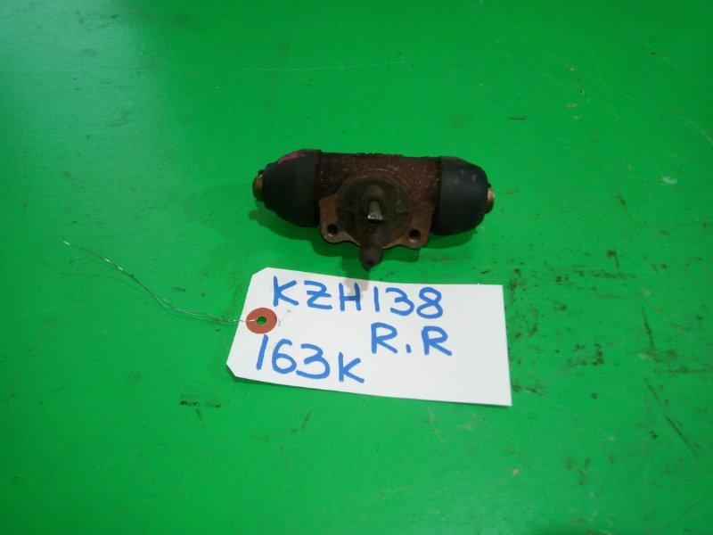 Тормозной цилиндр Toyota Hiace KZH138 задний правый (б/у)