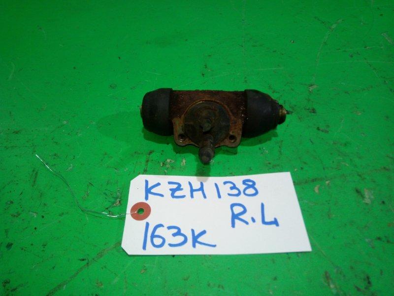 Тормозной цилиндр Toyota Hiace KZH138 задний левый (б/у)