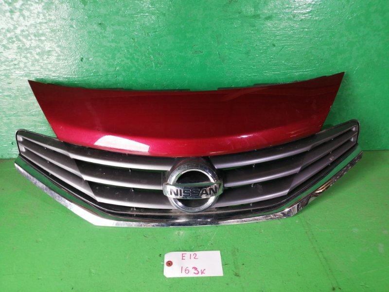 Решетка радиатора Nissan Note E12 (б/у)