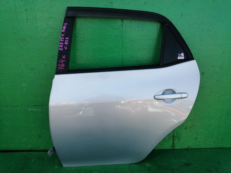 Дверь Toyota Auris ZRE154 задняя левая (б/у)