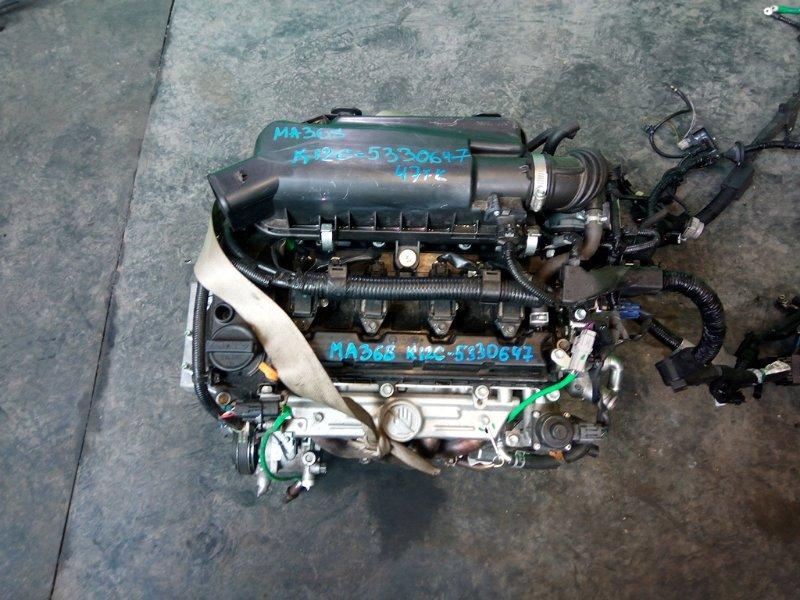Двигатель Suzuki Wagon R MA36S K12C (б/у)