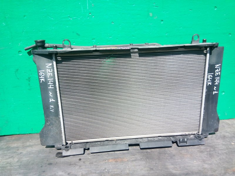 Радиатор основной Toyota Fielder NZE144 1NZ-FE (б/у) N1