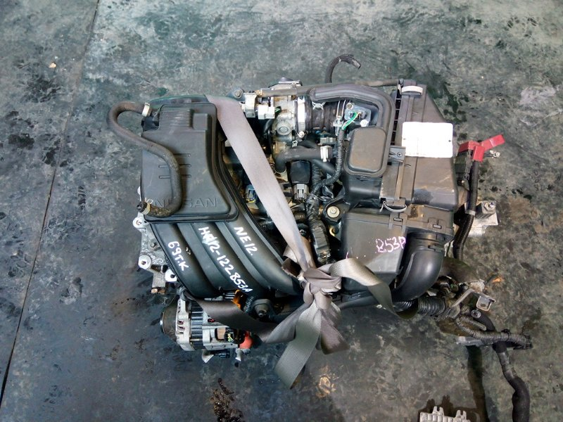 Двигатель Nissan Note E12 HR12-DE (б/у)
