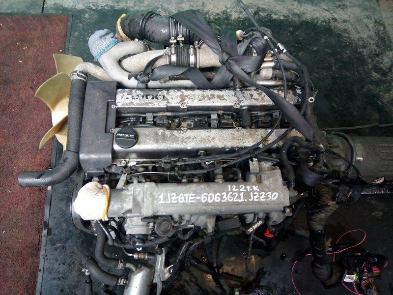 Двигатель Toyota Soarer JZZ30 1JZ-GTE (б/у)