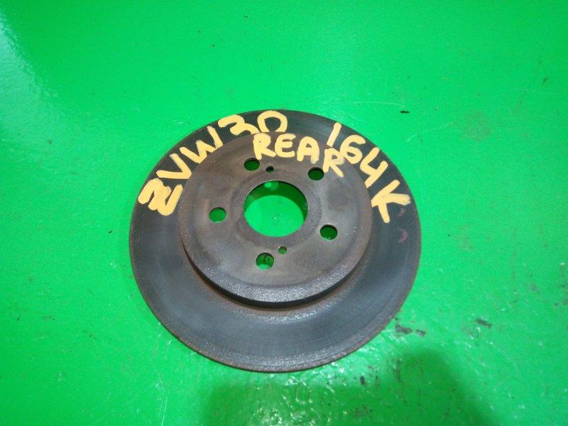 Тормозной диск Toyota Prius ZVW30 задний (б/у)