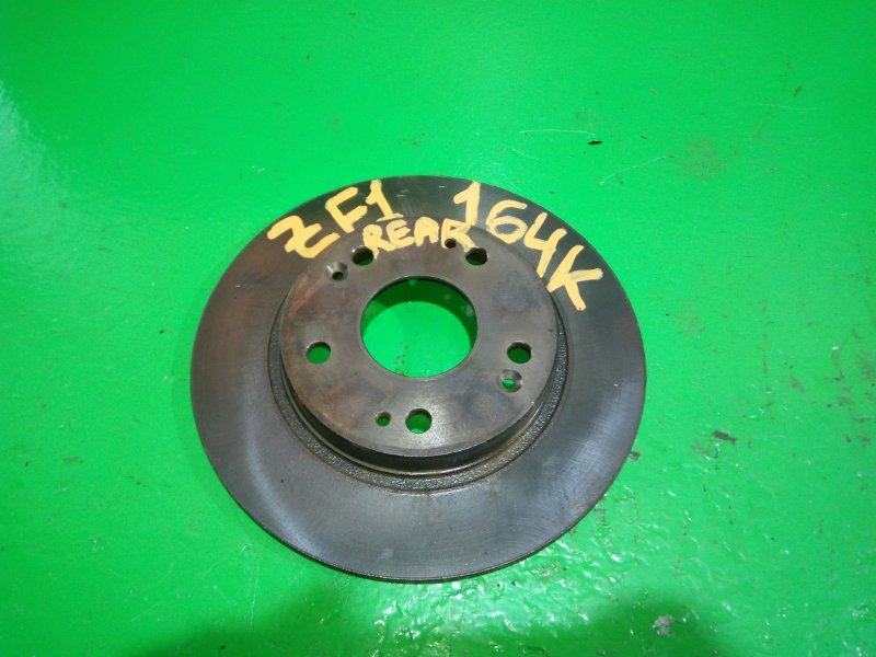 Тормозной диск Honda Cr-Z ZF1 задний (б/у)