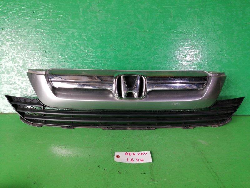 Решетка радиатора Honda Crv RE4 (б/у)