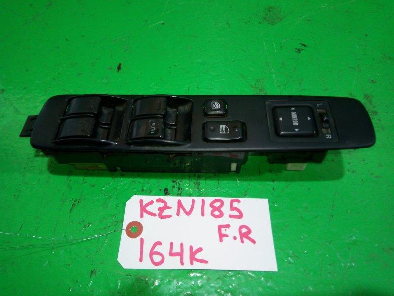 Блок упр. стеклоподьемниками Toyota Surf KZN185 передний правый (б/у)
