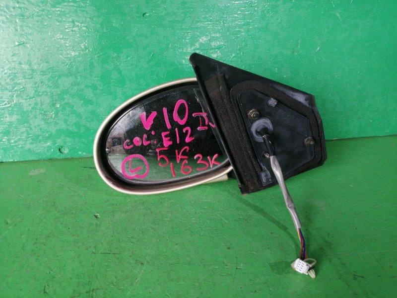 Зеркало Nissan Tino V10 левое (б/у)