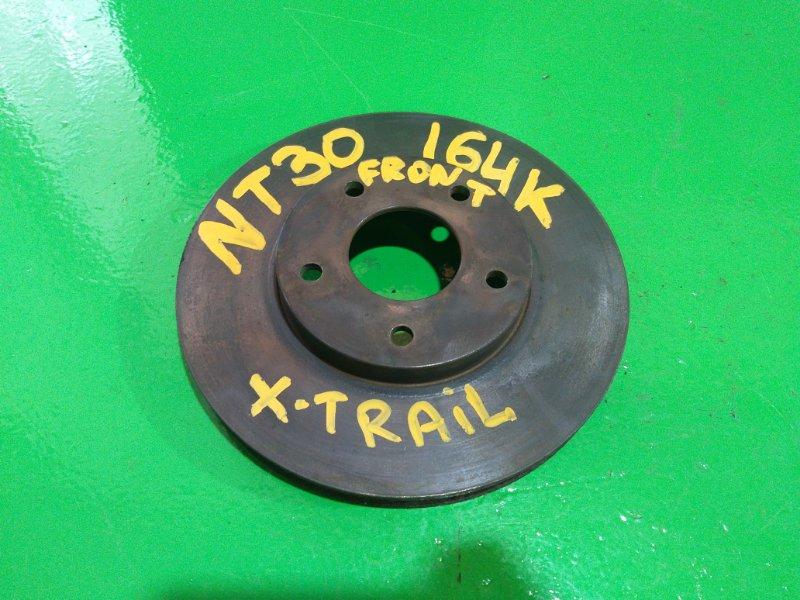 Тормозной диск Nissan Xtrail NT30 передний (б/у)