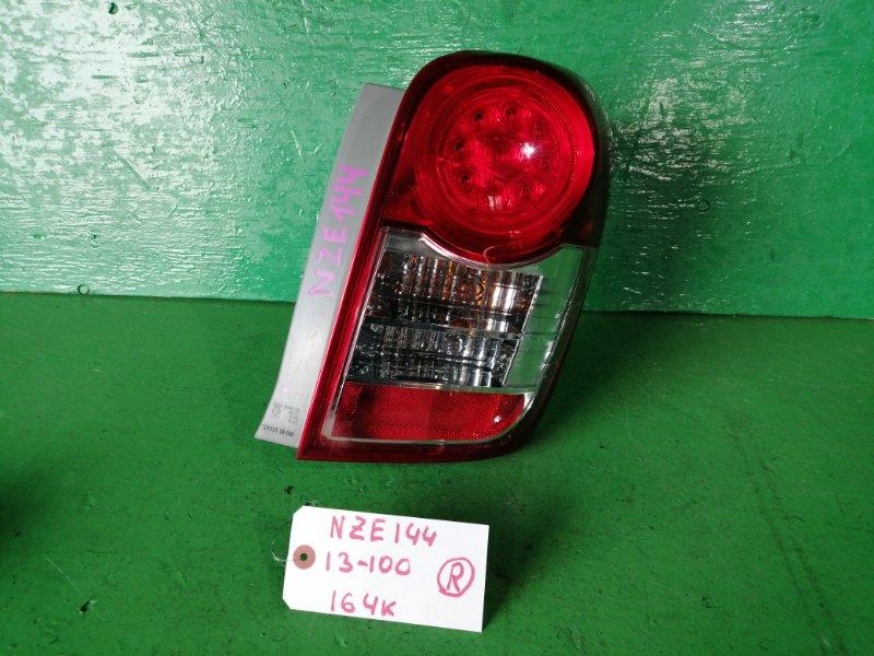 Стоп-сигнал Toyota Fielder NZE144 правый (б/у)