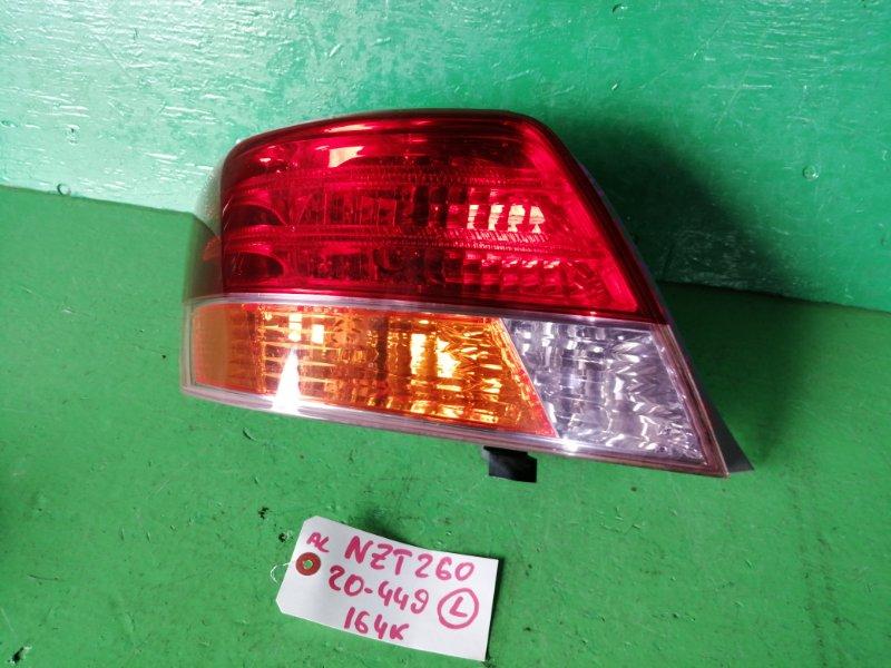 Стоп-сигнал Toyota Allion NZT260 левый (б/у)