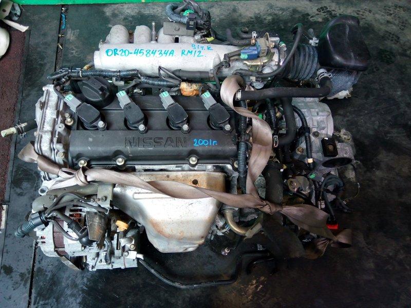 Двигатель Nissan Liberty M12 QR20-DE 2001 (б/у)