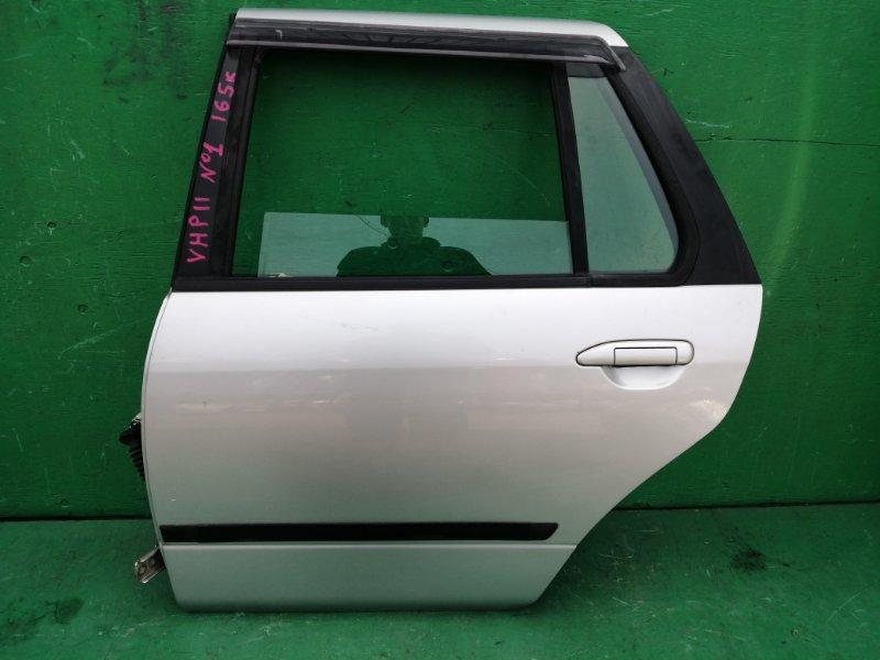 Дверь Nissan Primera P11 задняя левая (б/у) N1