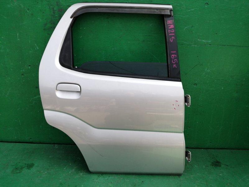 Дверь Suzuki Kei HN21S задняя правая (б/у)