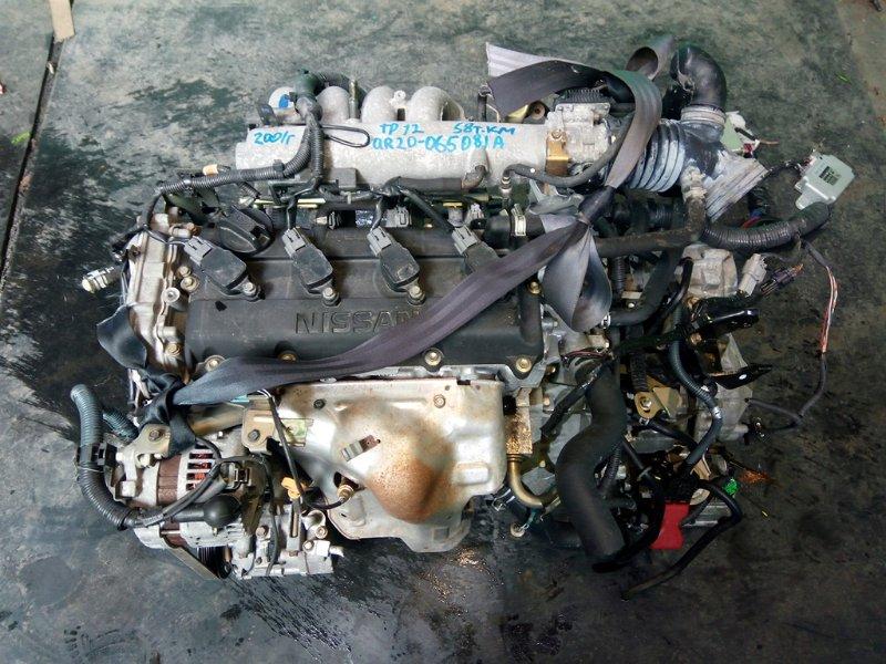 Двигатель Nissan Primera P12 QR20-DE 2001 (б/у)