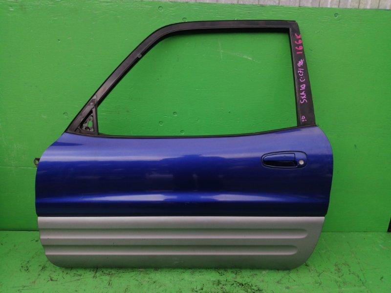 Дверь Toyota Rav4 SXA10 1998 передняя левая (б/у)
