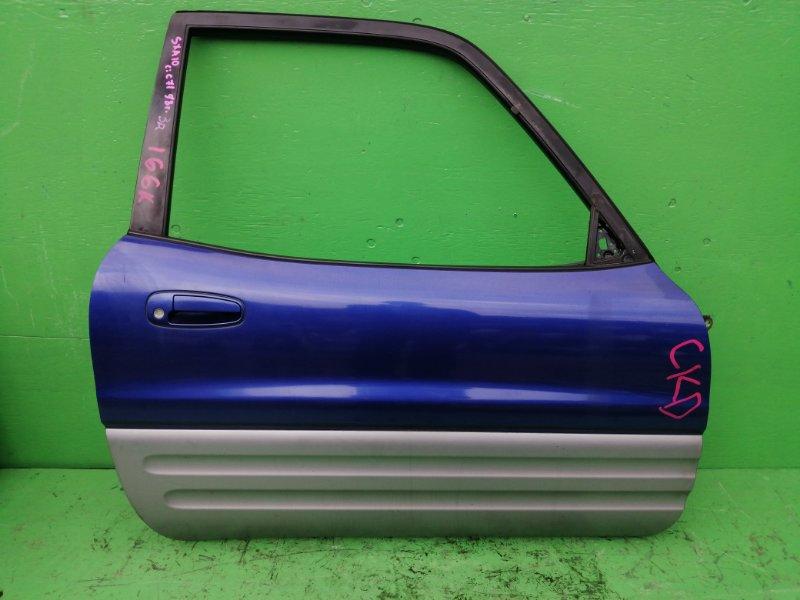 Дверь Toyota Rav4 SXA10 1998 передняя правая (б/у)