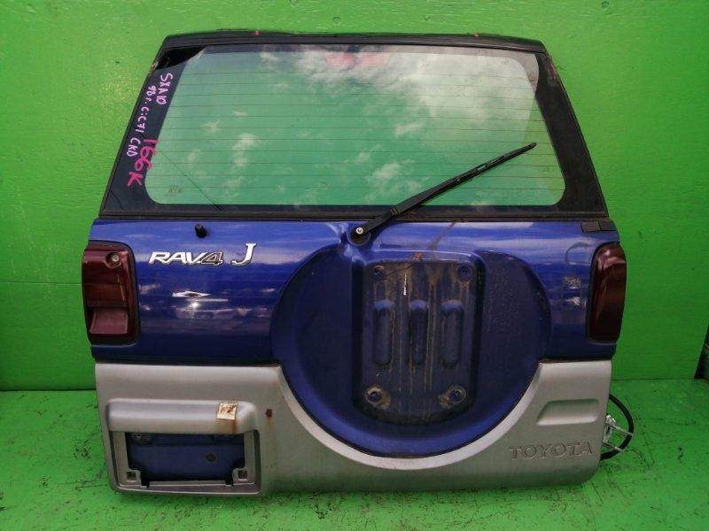 Дверь задняя Toyota Rav4 SXA10 (б/у)