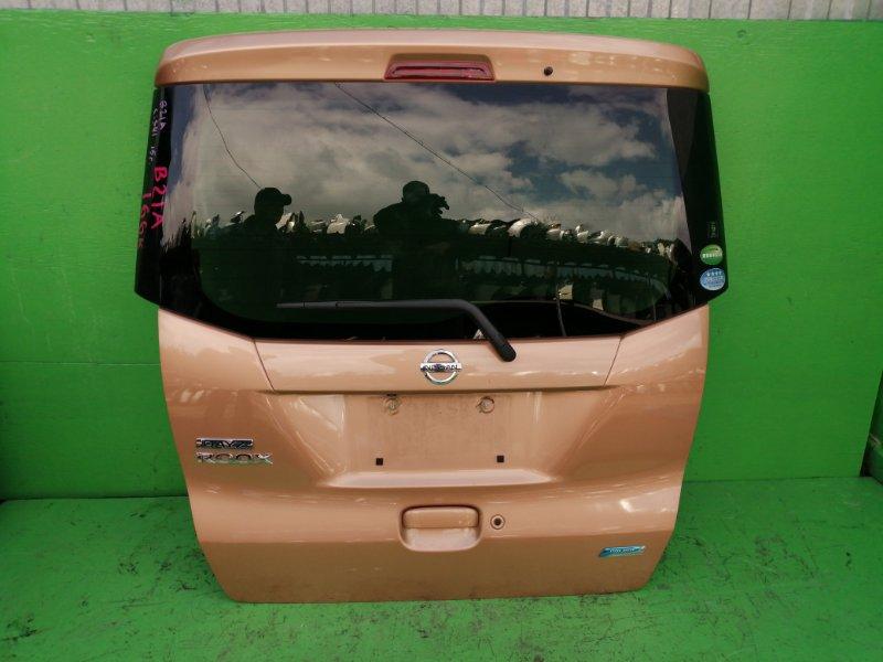 Дверь задняя Nissan Dayz Roox B21A 2015 (б/у)
