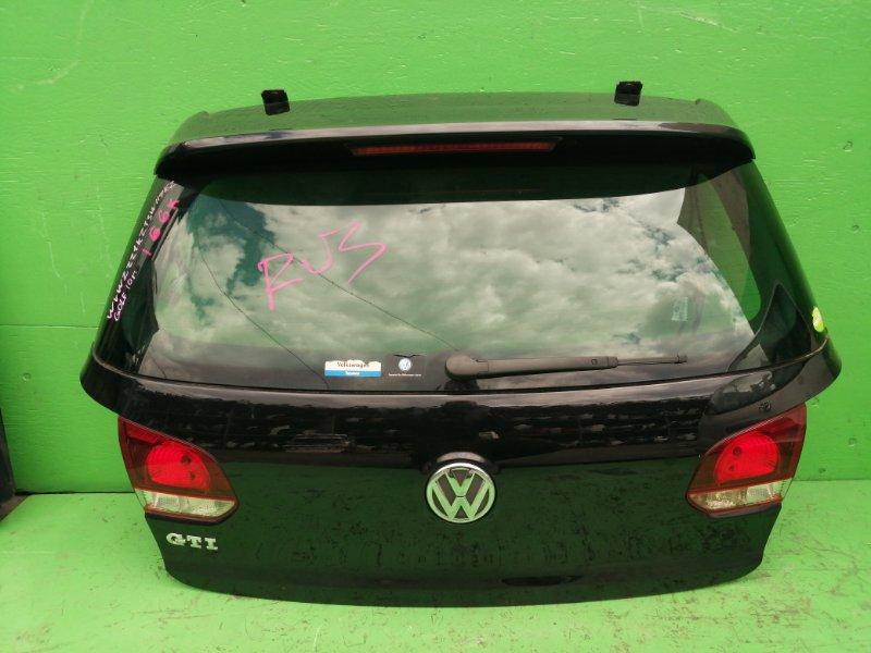 Дверь задняя Volkswagen Golf 5K1 2010 (б/у)